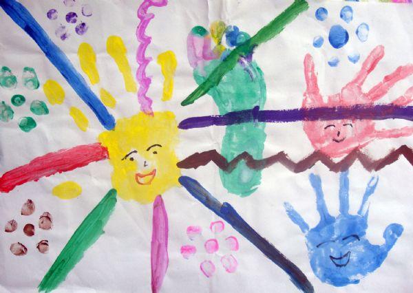 幼儿园保护手脚图片