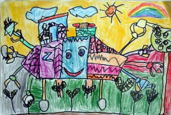 儿童画 600_405