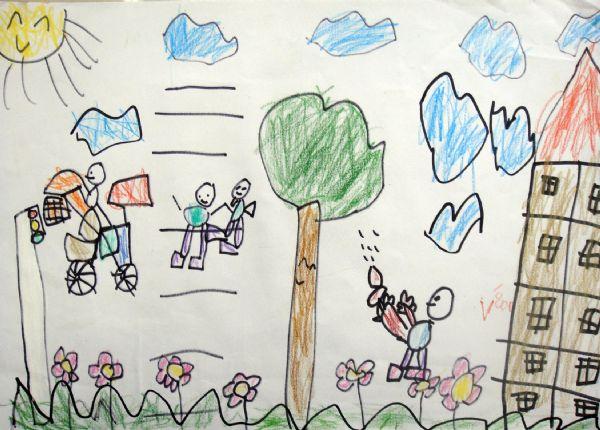 幼儿绘画图片大全机器人