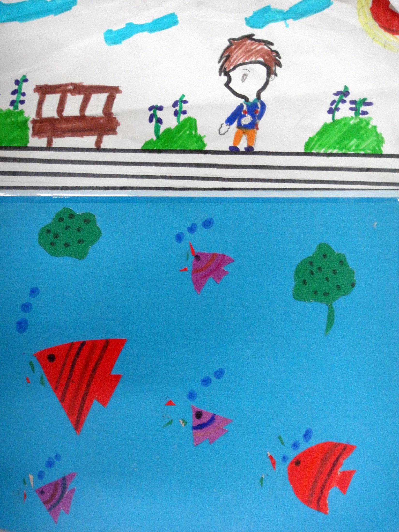 快乐的小鱼步骤图
