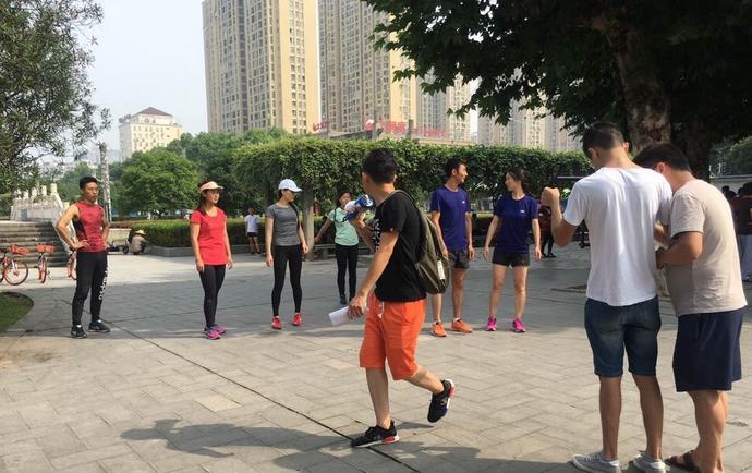 2017宜昌马拉松宣传片正在拍摄中