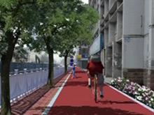 BRT开建配套设施 景观大道六月呈现