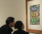 百幅版画展出 木刻油印展示夷陵风情