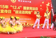 弘扬宪法精神 法制宣传走进宜昌县市区