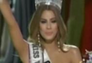 环球小姐选美摆乌龙 后冠竟然给错人