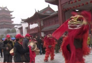 夷陵:官庄举行首届民俗文化庙会活动