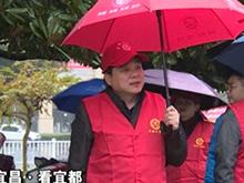 宜都罗联峰谭建国参加文明创建志愿服务活动