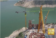 香溪长江公路大桥完成先导索过江施工