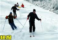 12日起市民可乘专线车直达神农架滑雪场