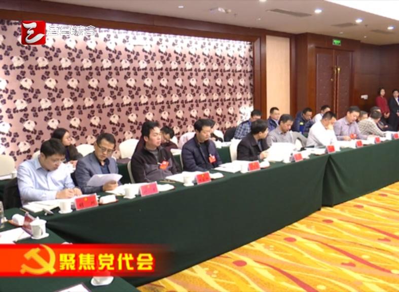 马旭明参加中省在宜企事业单位代表团讨论