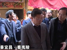 夷陵区区长王平昌督查文明城市创建工作
