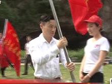 奥运冠军杨威等人志愿服务到远安