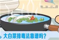 大白菜排毒法靠谱吗?