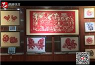 """巧剪""""百鸡""""恭贺新春 民间文化薪火相传"""
